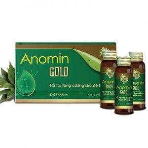 Anomin Gold hỗ trợ tăng cường sức đề kháng