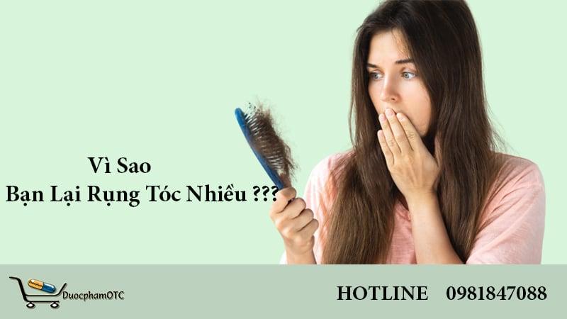 bệnh lý rụng tóc