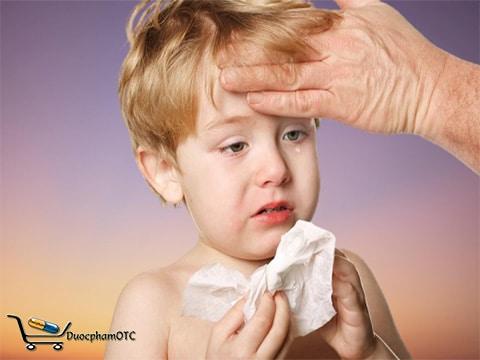 viêm đường hô hấp trên ở trẻ