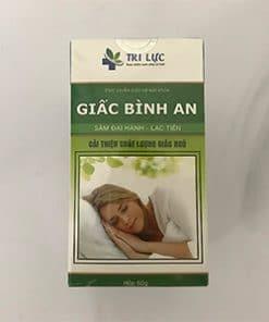 giấc bình an cải thiện chất lượng giấc ngủ